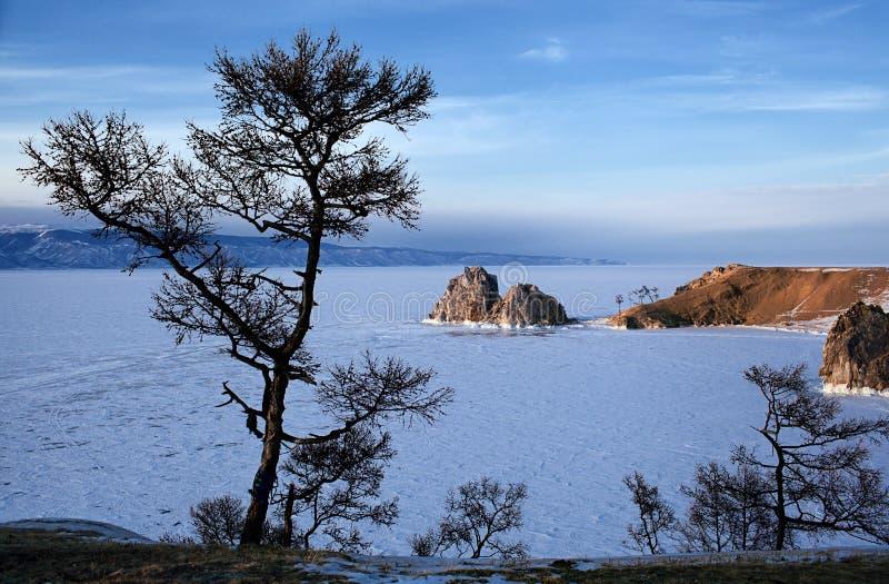 Lago di Baikal fotografie stock