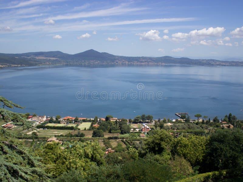 Lago di Bracciano (Roma) imagen de archivo libre de regalías