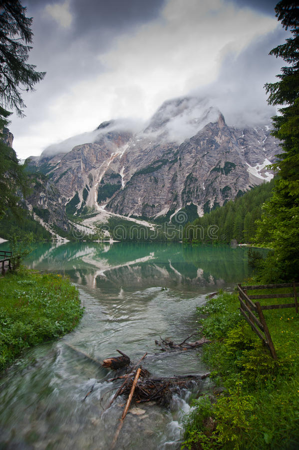 Download Lago Di Braies Royalty Free Stock Photography - Image: 20340477