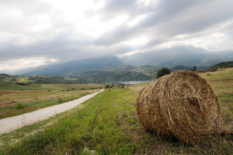 Lago di Casoli nell'Abruzzo fotografia stock