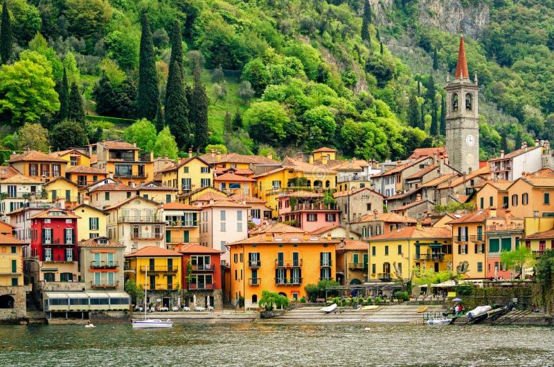 Lago di Como Varenna fotografia de stock royalty free