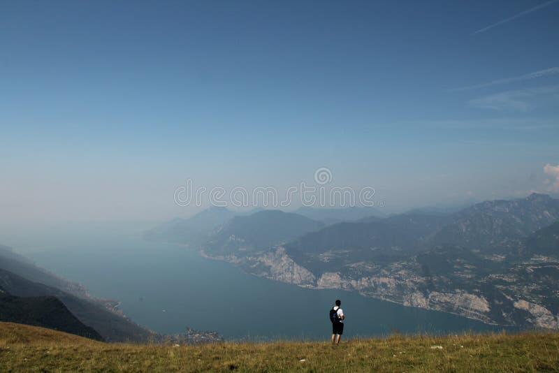 Lago Di Garda άποψη στοκ εικόνα με δικαίωμα ελεύθερης χρήσης