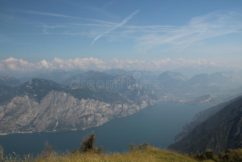 Lago di Garda immagini stock libere da diritti