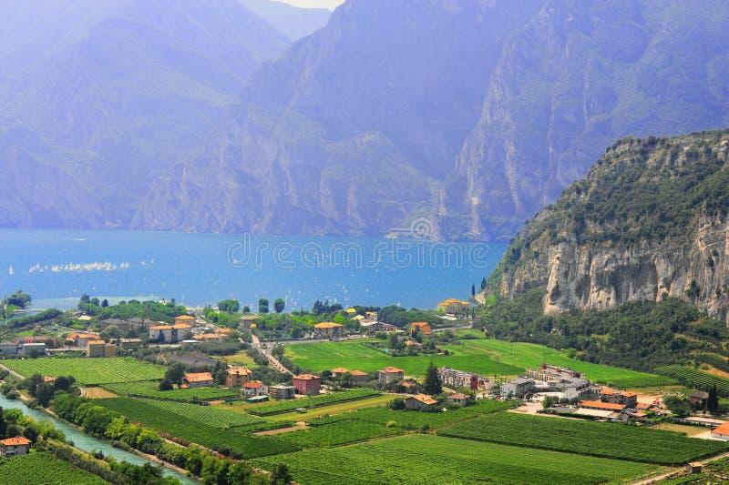 Lago Di Garda imágenes de archivo libres de regalías