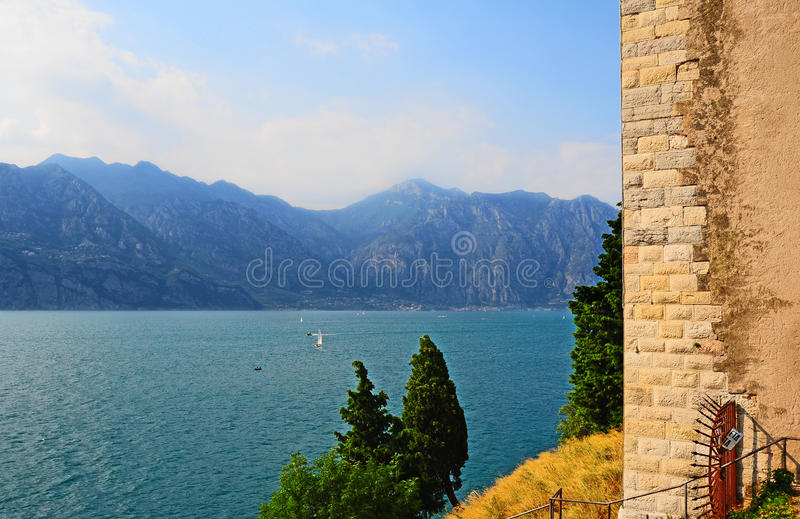 Download Lago Di Garda stock image. Image of environment, fall - 20579605