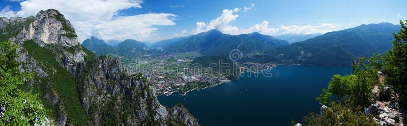 Lago di Garda 6 arkivbild