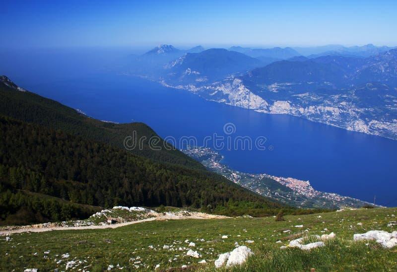 Lago di Garda 7 royaltyfria foton