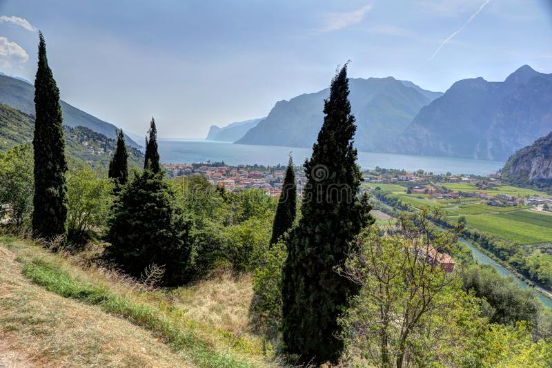 Lago di Garda immagine stock