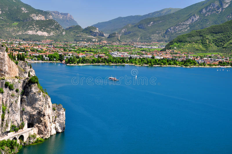 Download Lago di Garda stock image. Image of recreation, scene - 38800967