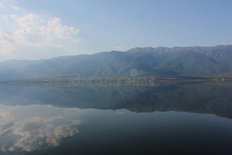 Lago di Kerkini Serres Grecia fotografia stock libera da diritti