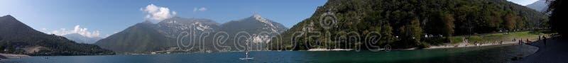 Lago di Ledro fotografia stock libera da diritti