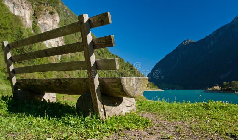Lago di poschiavo imagens de stock royalty free