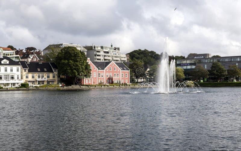 Lago di Stavanger fotografia stock libera da diritti