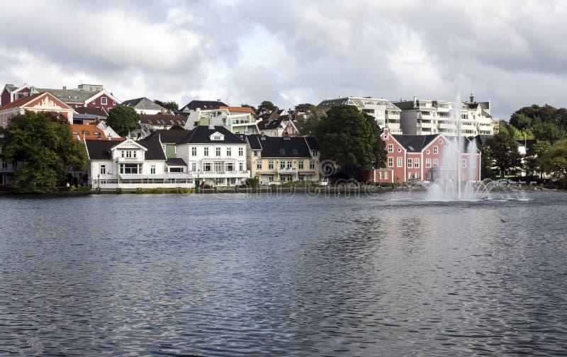 Lago di Stavanger fotografia stock