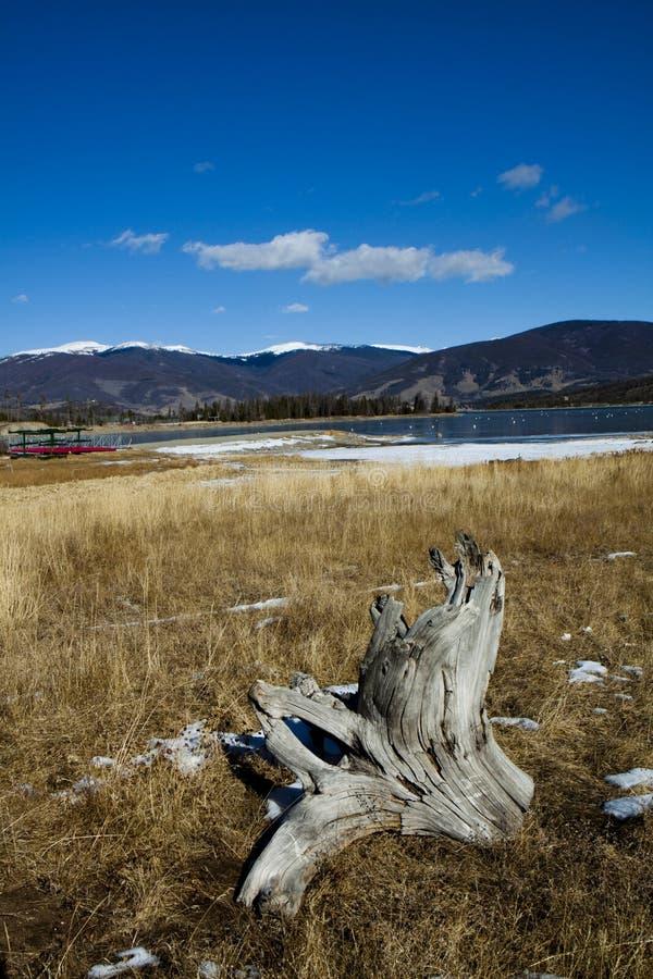 Lago Dillon imagem de stock