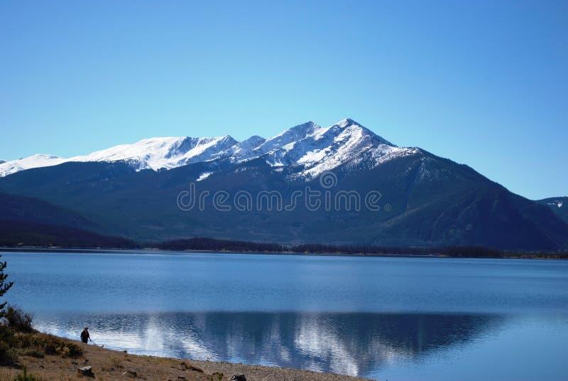 Lago Dillon Colorado immagini stock