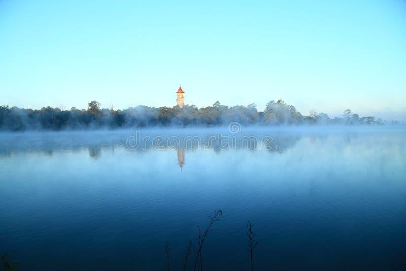 Lago do jardim botânico fotografia de stock royalty free