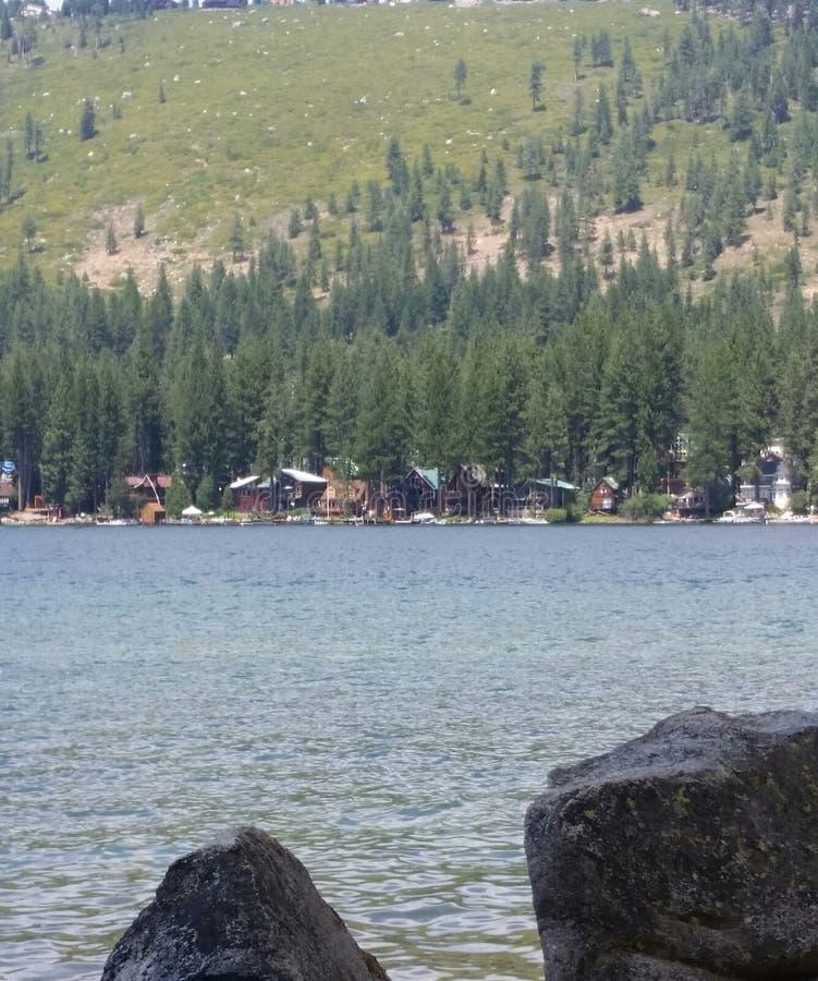Lago Donner fotos de archivo