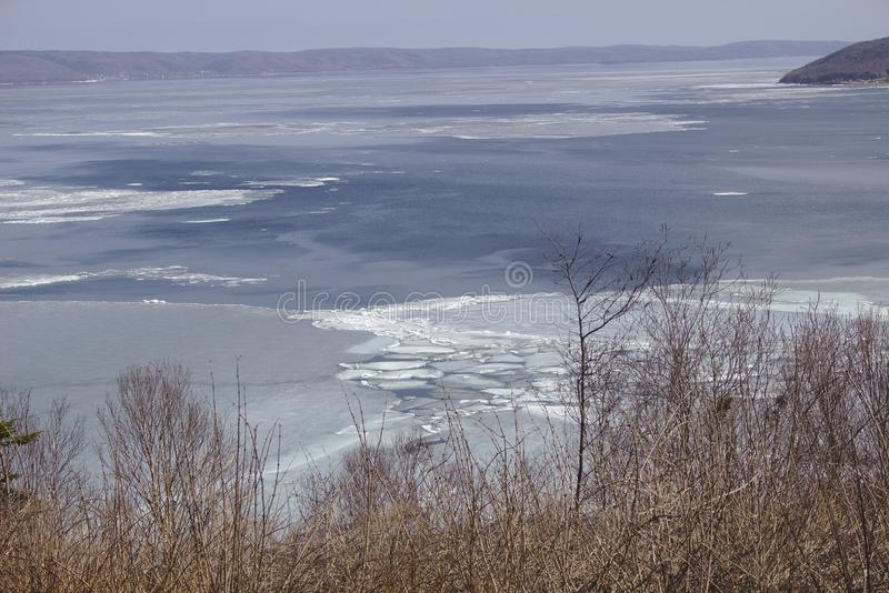 Lago Dor de los sujetadores imagen de archivo