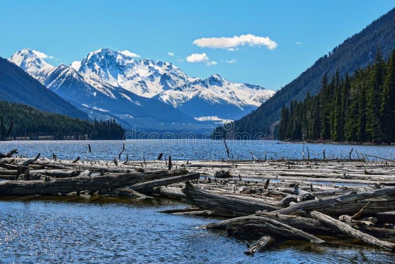Lago Duffey, A.C., Canadá fotografía de archivo libre de regalías