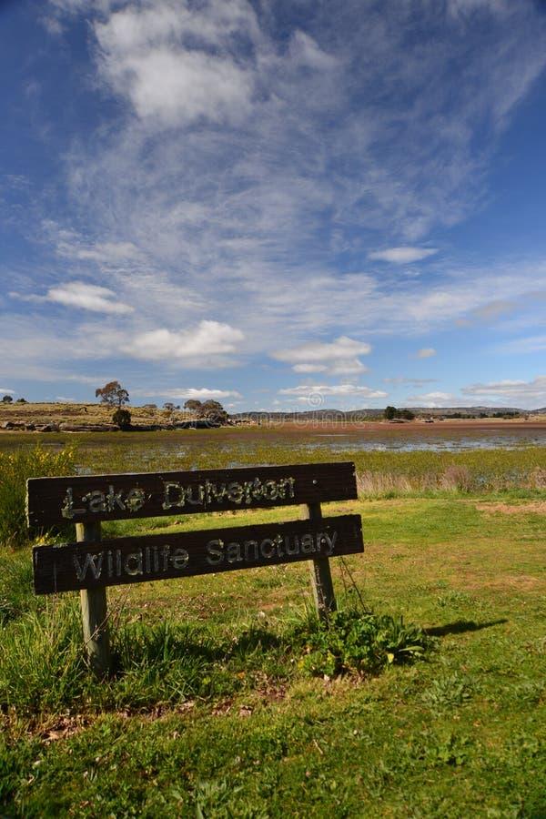 Lago Dulverton imagens de stock