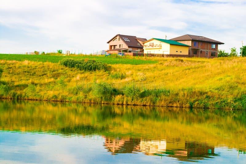 Lago e natureza fotografia de stock