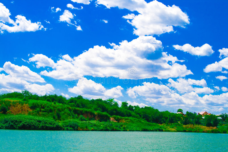 Lago e natureza foto de stock royalty free