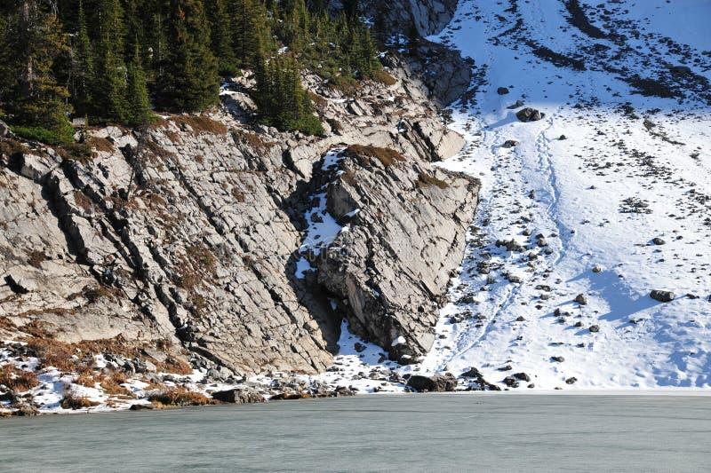 Download Lago e puntello ghiacciati immagine stock. Immagine di copertura - 7318645