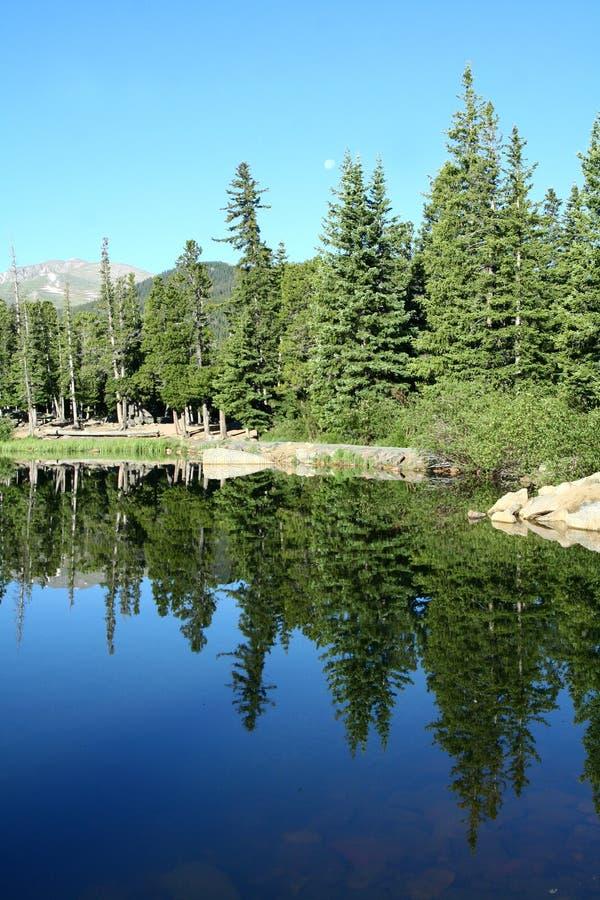 Lago echo foto de archivo libre de regalías