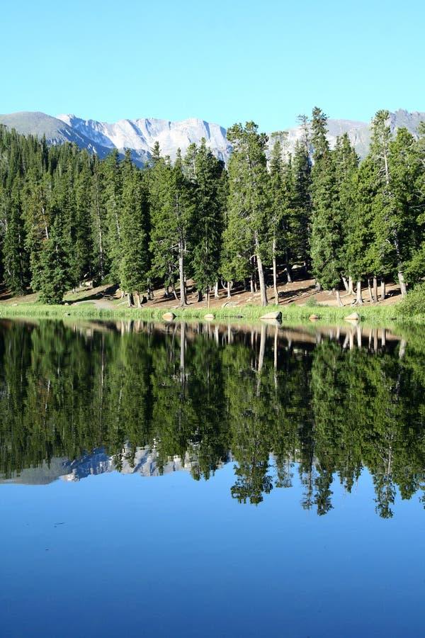 Lago echo imágenes de archivo libres de regalías