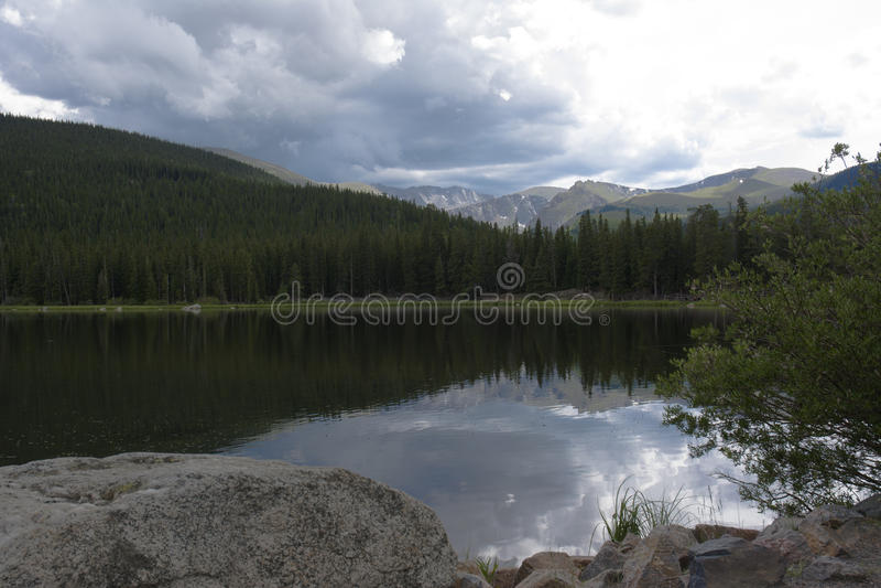 Lago echo fotografía de archivo