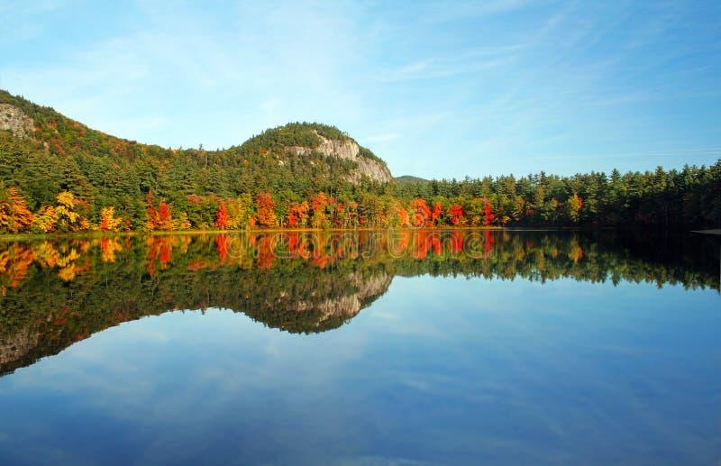 Lago echo, de New-Hampshire fotos de stock royalty free