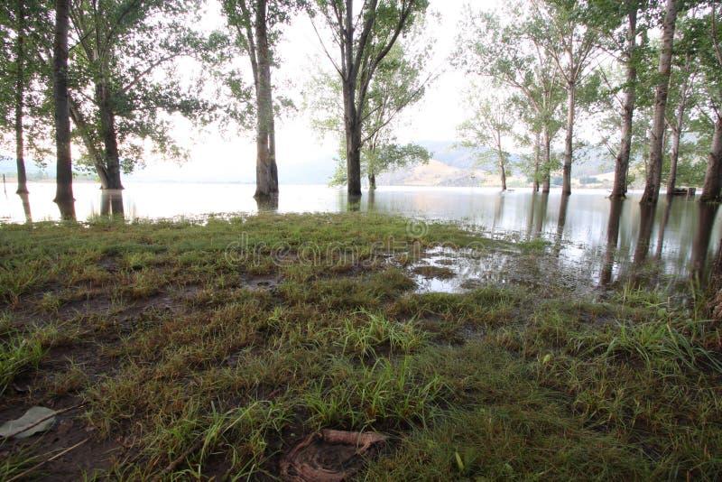 Lago Ecumbene immagine stock