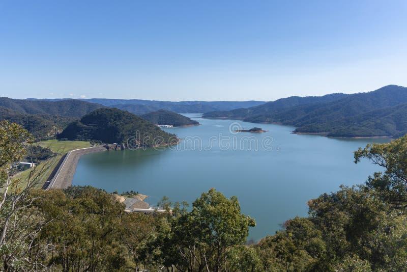 Lago Eildon en Victoria, Australia fotografía de archivo libre de regalías