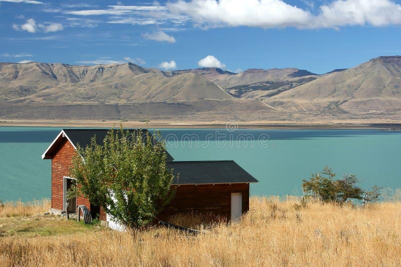 Lago (EL Calafate, la Argentina) foto de archivo libre de regalías