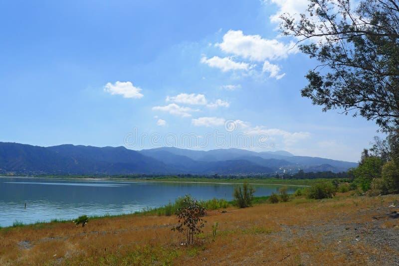 Lago Elsinore immagini stock libere da diritti