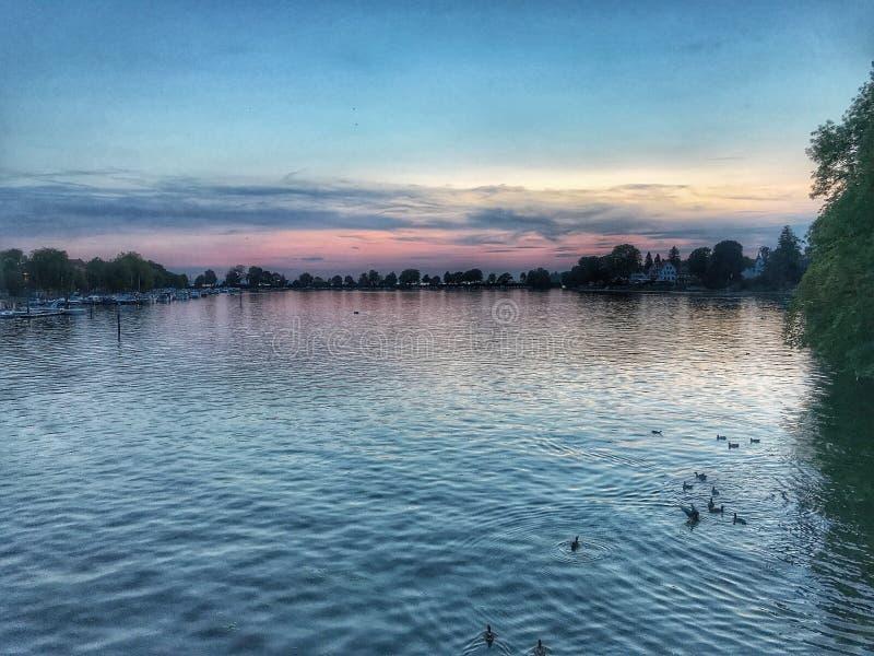 Lago em Alemanha foto de stock royalty free