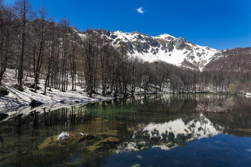 Lago em Grécia imagem de stock royalty free