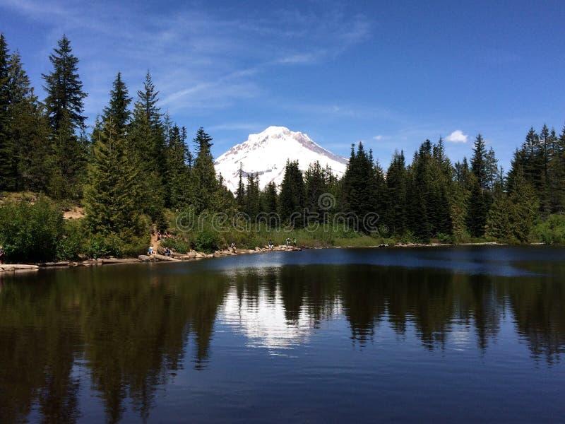 Lago em Oregon fotos de stock
