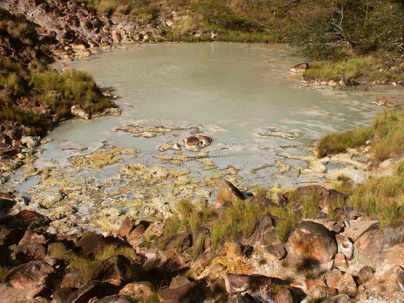 Lago Em Vulcão Rincon De La Vieja Imagens de Stock