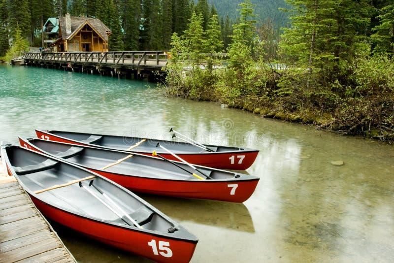 Lago emerald fotografia de stock royalty free