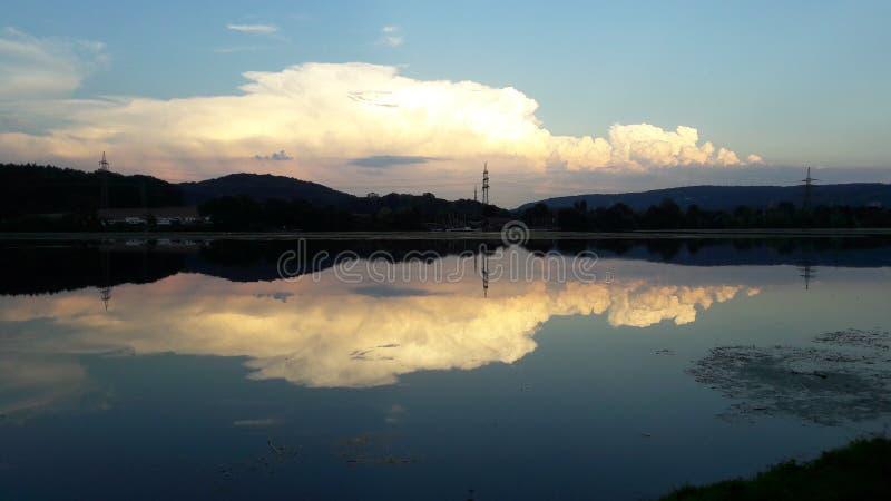 Lago en Alemania fotografía de archivo
