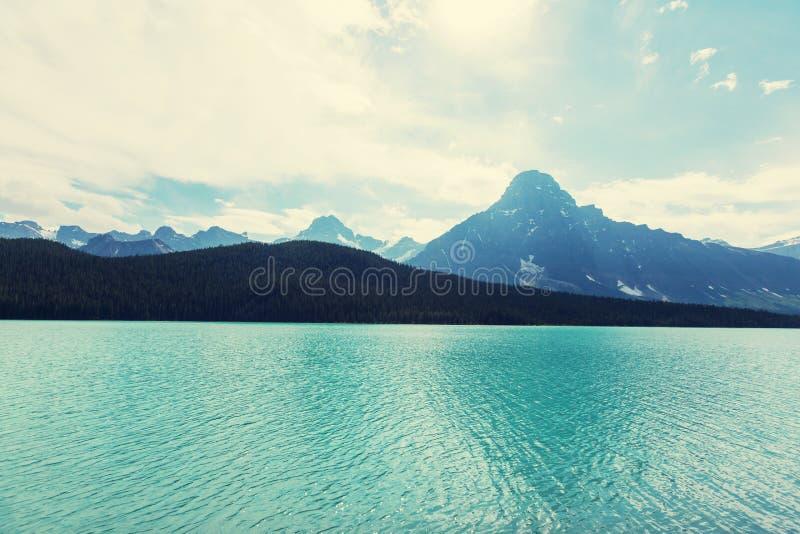 Download Lago en Canadá foto de archivo. Imagen de destinación - 64207308