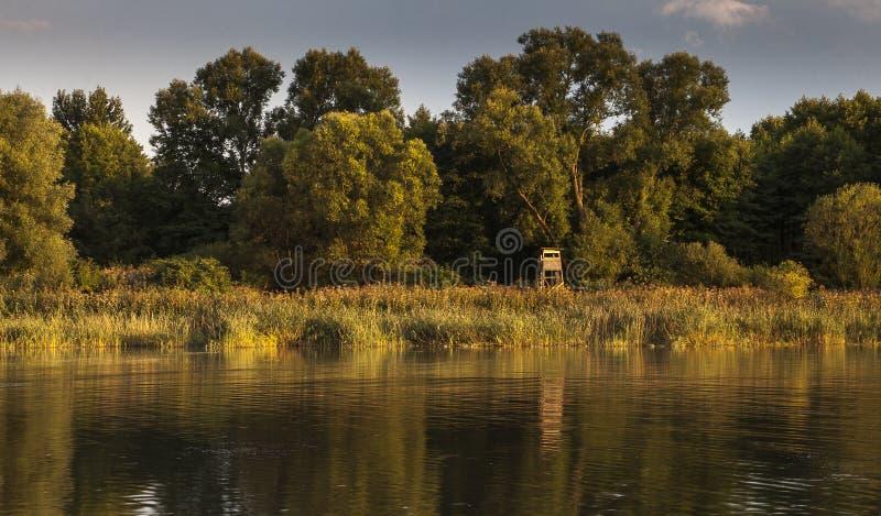 Lago en Chudow foto de archivo libre de regalías