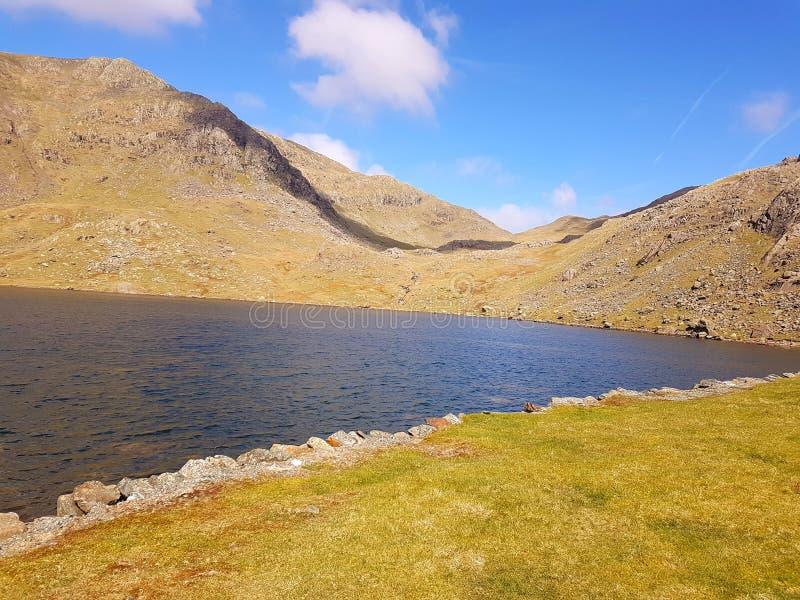 Lago en distrito del lago del helvellyn fotografía de archivo libre de regalías