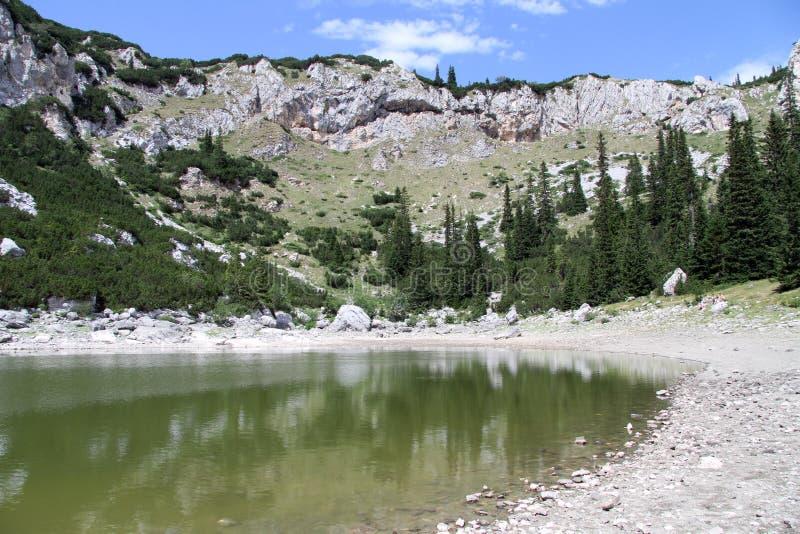 Lago en Durmitor fotografía de archivo libre de regalías