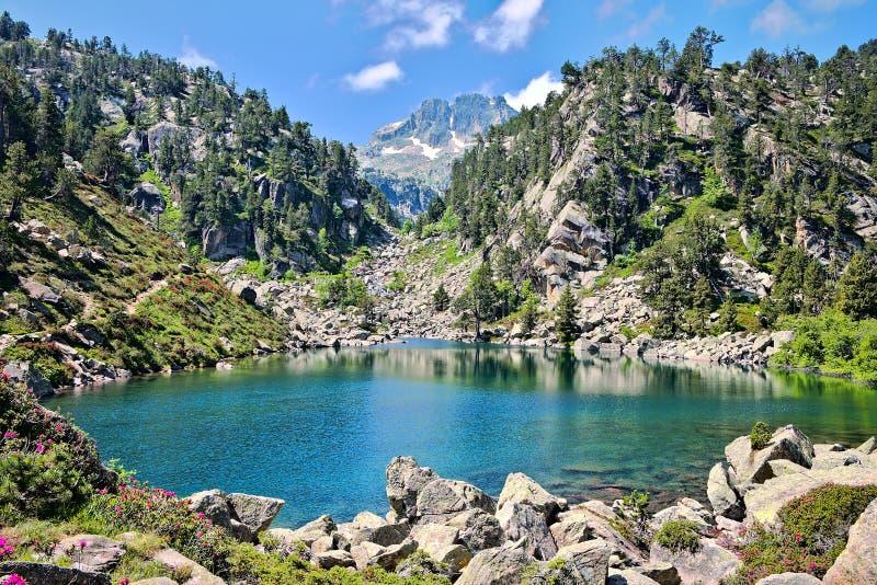 Lago en el valle de Gerber fotos de archivo