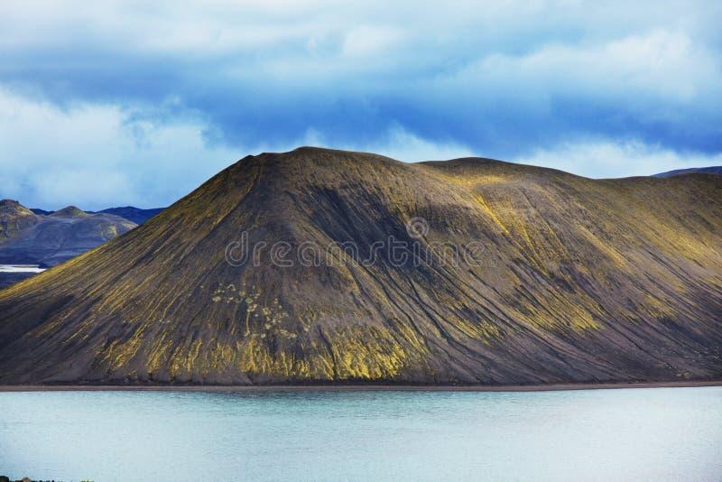 Lago en Islandia imágenes de archivo libres de regalías