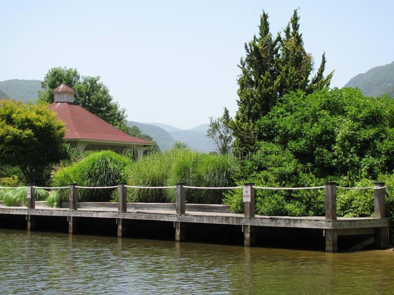 Lago en montañas del NC imágenes de archivo libres de regalías