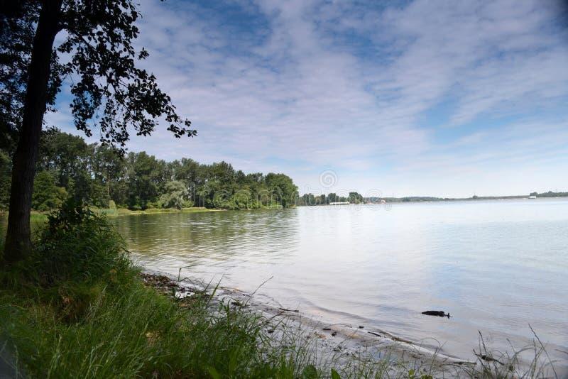 Lago en Rybnik fotografía de archivo libre de regalías